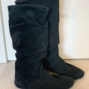 Steve Madden Suede Slouchy Boots